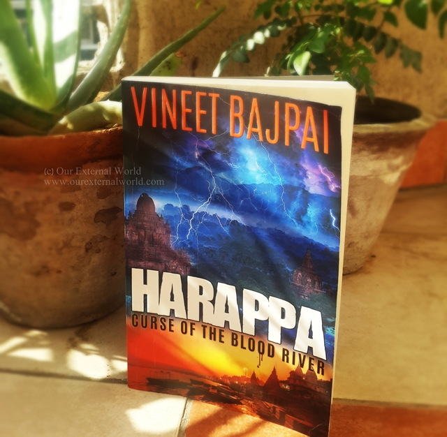 Book Review: Harappa Curse Of The Blood River by Vineet Bajpai