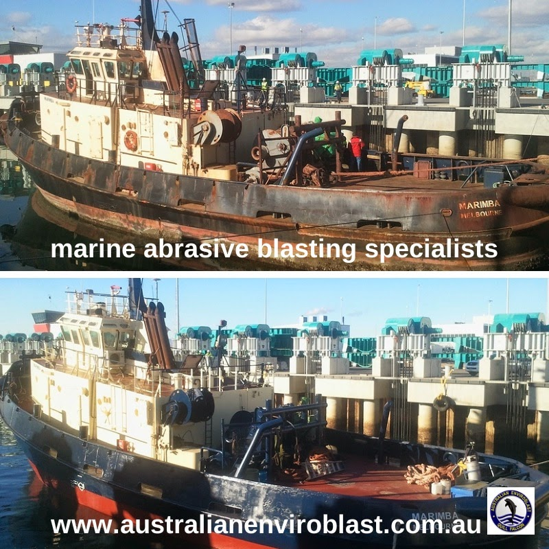 Abrasive blasting has proven itself to be the most effective cost-efficient means of removing contaminants and marine build up from ships, boats and yachts of all types