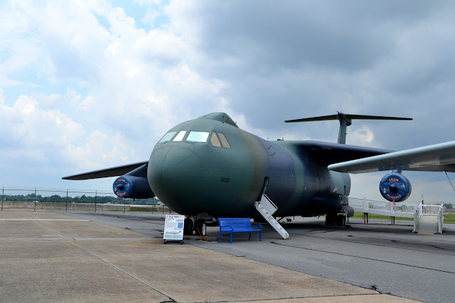 Локхід С-141Б «Старліфтер». Музей військової авіації, штат Делавер (Lockheed C-141B Starlifter. Air Mobility Command Museum, Dover, Delaware)