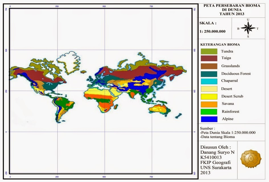 Gambar Peta Lingkungan Setempat Indonesia Gambar Fauna di