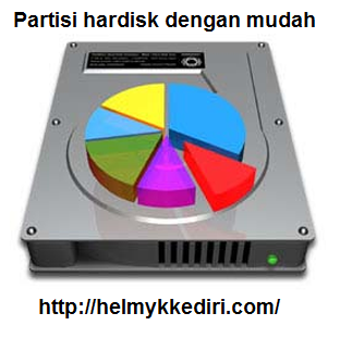 Cara partisi hardisk windows secara manual