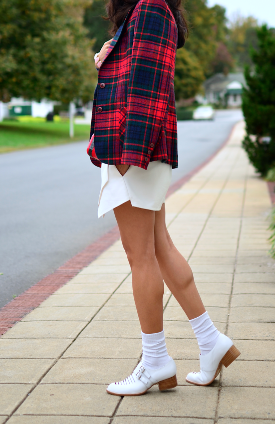 White Brogues Outfit
