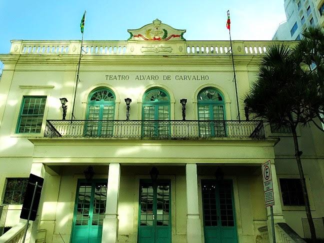 Teatro Álvaro de Carvalho, em Florianópolis