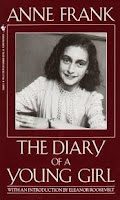 Image of Anne Frank on Top Ten Tuesday Childhood Book Characters on Blog of Extra Ink Edits from Writing Consultant and Editor providing editing services for writers, including query critique, synopsis polish,beta reading