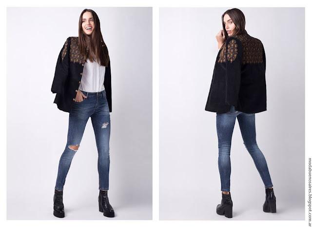 Moda invierno 2016 ropa de mujer Kevingston Mujer. Moda 2016.