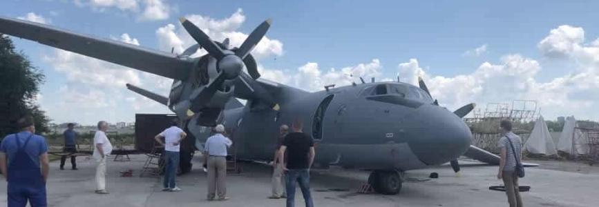 На 410-му заводі пошкодили відремонтований літак Ан-26