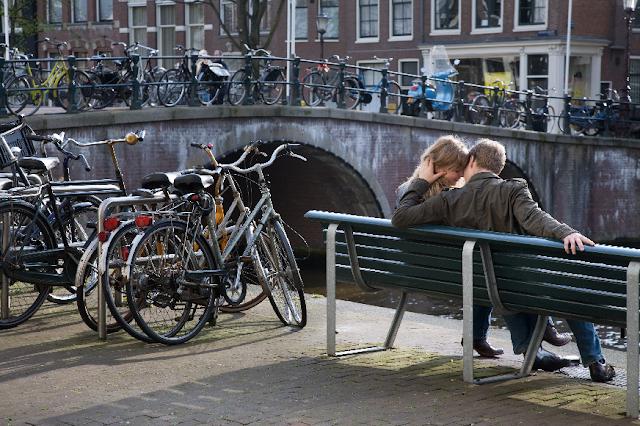 Passeios românticos em Amsterdã