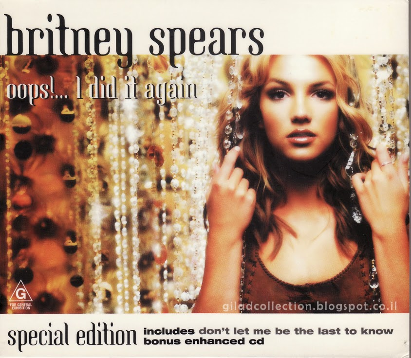Britney Spears Collection By Gilad Oops I Did It Again Australia 2cds Special Edition