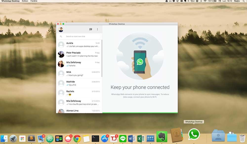WhatsApp Windows, Mac Masaüstü Uygulaması İndir