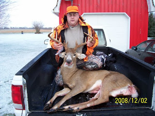 Using The Terrain To Harvest A 13 point Ohio Buck - Story of my 2008 hunting season. 3