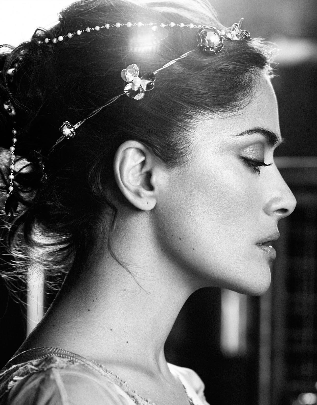 Лучшие фото Сальмы Хайек из разных фотосессий