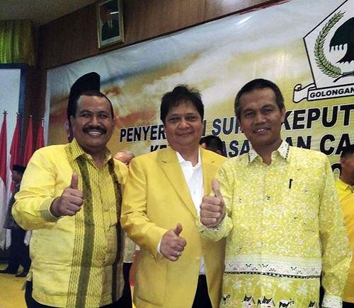 Hari Ini Mardison Dilantik Sebagai Ketua DPD Golkar Periode Ketiga
