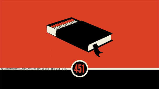 Fahrenheit 451, realtà distopica o profezia? - Libri, scrittori