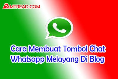 Tombol Chat Whatsapp Melayang Di Blog