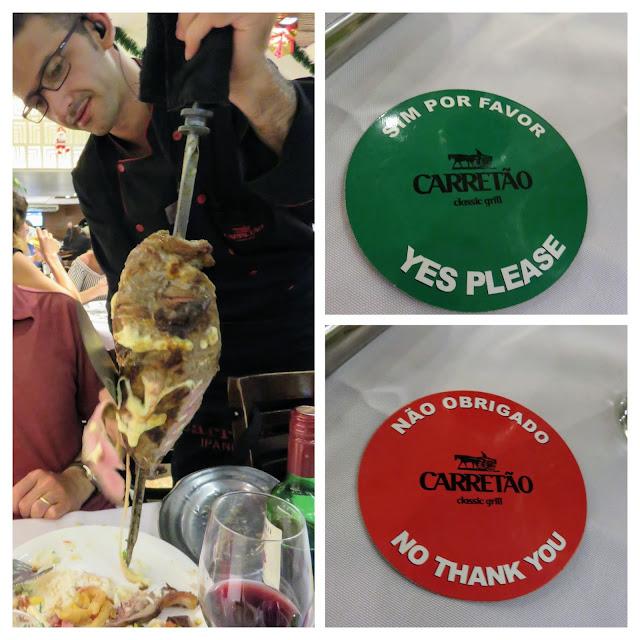 Where to eat in Rio de Janeiro Brazil: Carretao Churrascaria