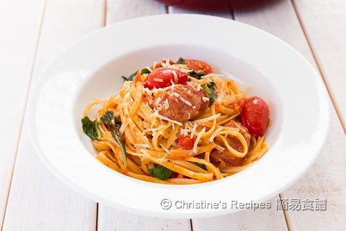 蕃茄羅勒意大利粉 One Pot Pasta02