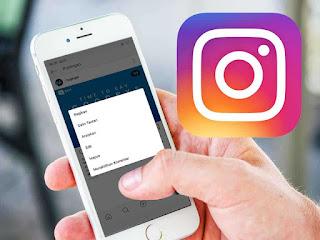 Cara menghilangkan komentar di instagram  Inilah Cara Menghilangkan Kolom Komentar di Instagram Terbaru 2019
