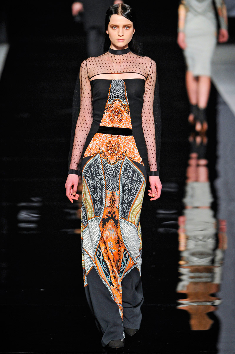 Lonesome Liz S Wild West Show Rimondi Balmain Etro Fall