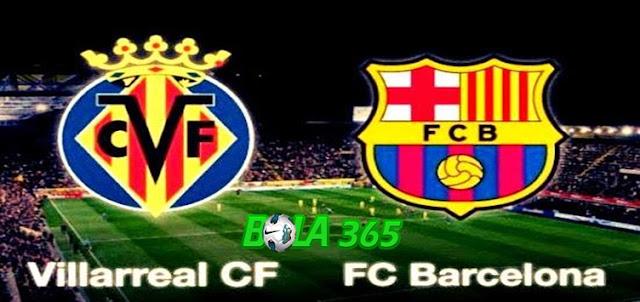 Prediksi Villarreal vs Barcelona 11 Desember 2017