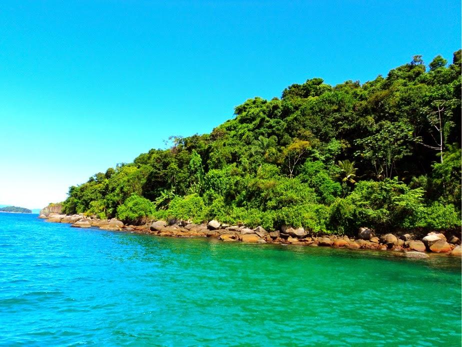 Praia da Lula, em Paraty