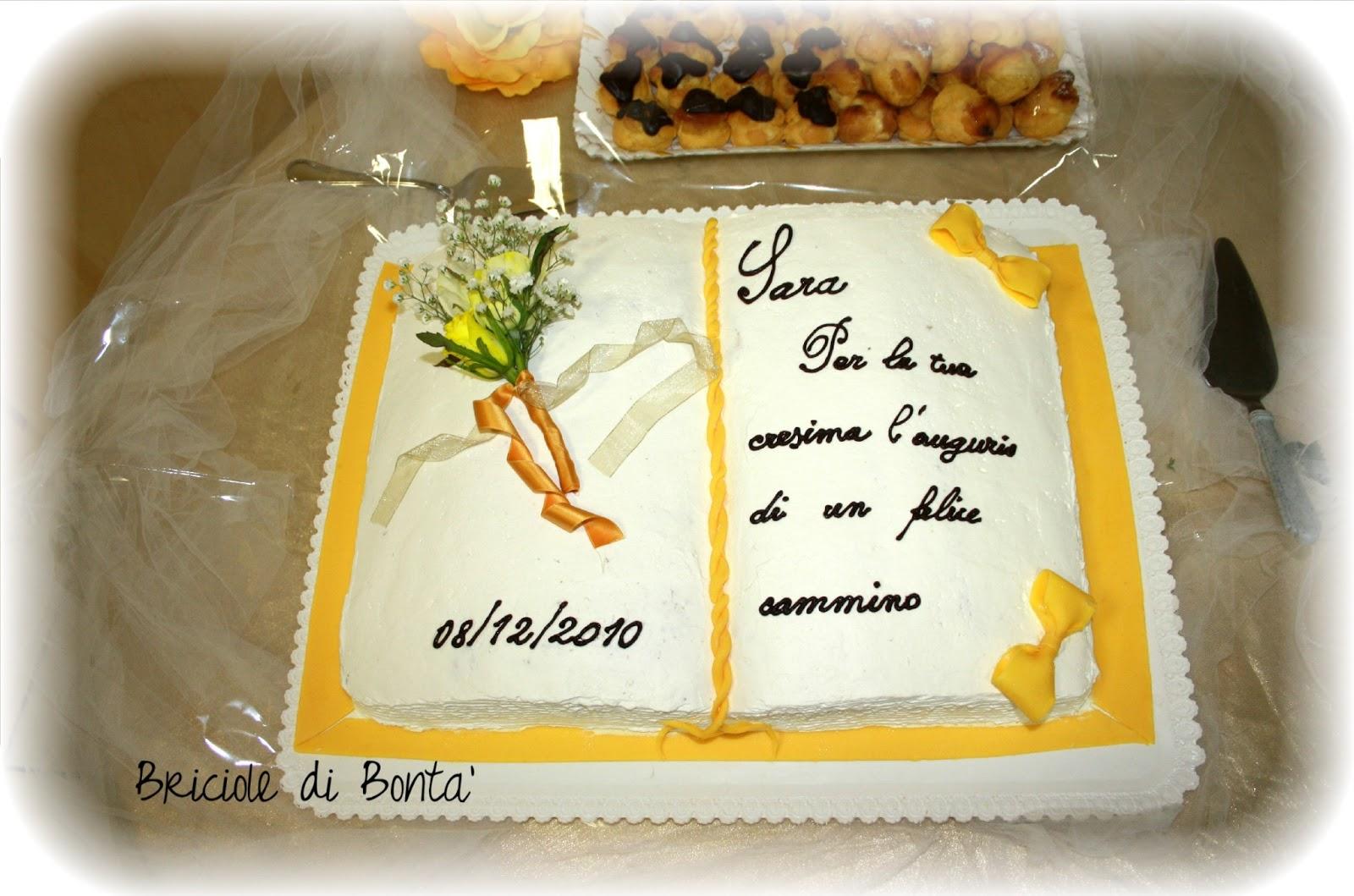 Preferenza Torta decorata per una cresima! – Briciole di Bontà ZL18