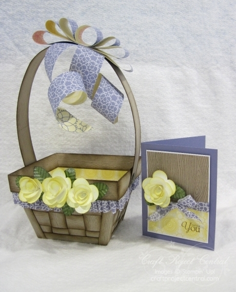 Krafting Kreations: Spring Basket and Card and Blog Candy!