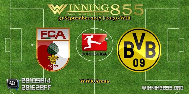 Prediksi Skor Augsburg vs Borussia Dortmund 31 September 2017