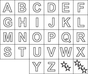 Abecedário Letras Do Alfabeto Para Imprimir Como Faço