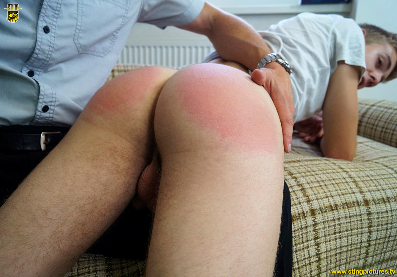 Proper dirty Spank the bad boy wespank yummy