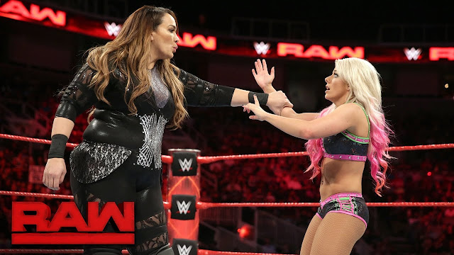 Naya Jax vs Alexa Bliss for WWE Women Championship at Wrestlemania 34