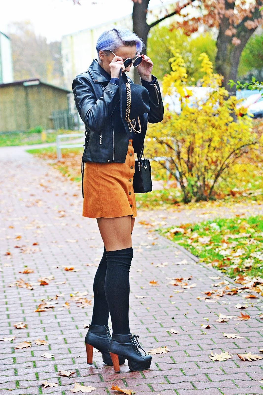 granatowa_koszula_lidl_ruda_spodnica_karyn_look_1123