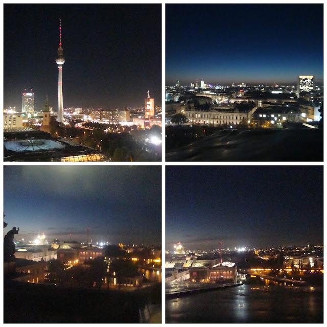 Berlim vista da Berliner Dom