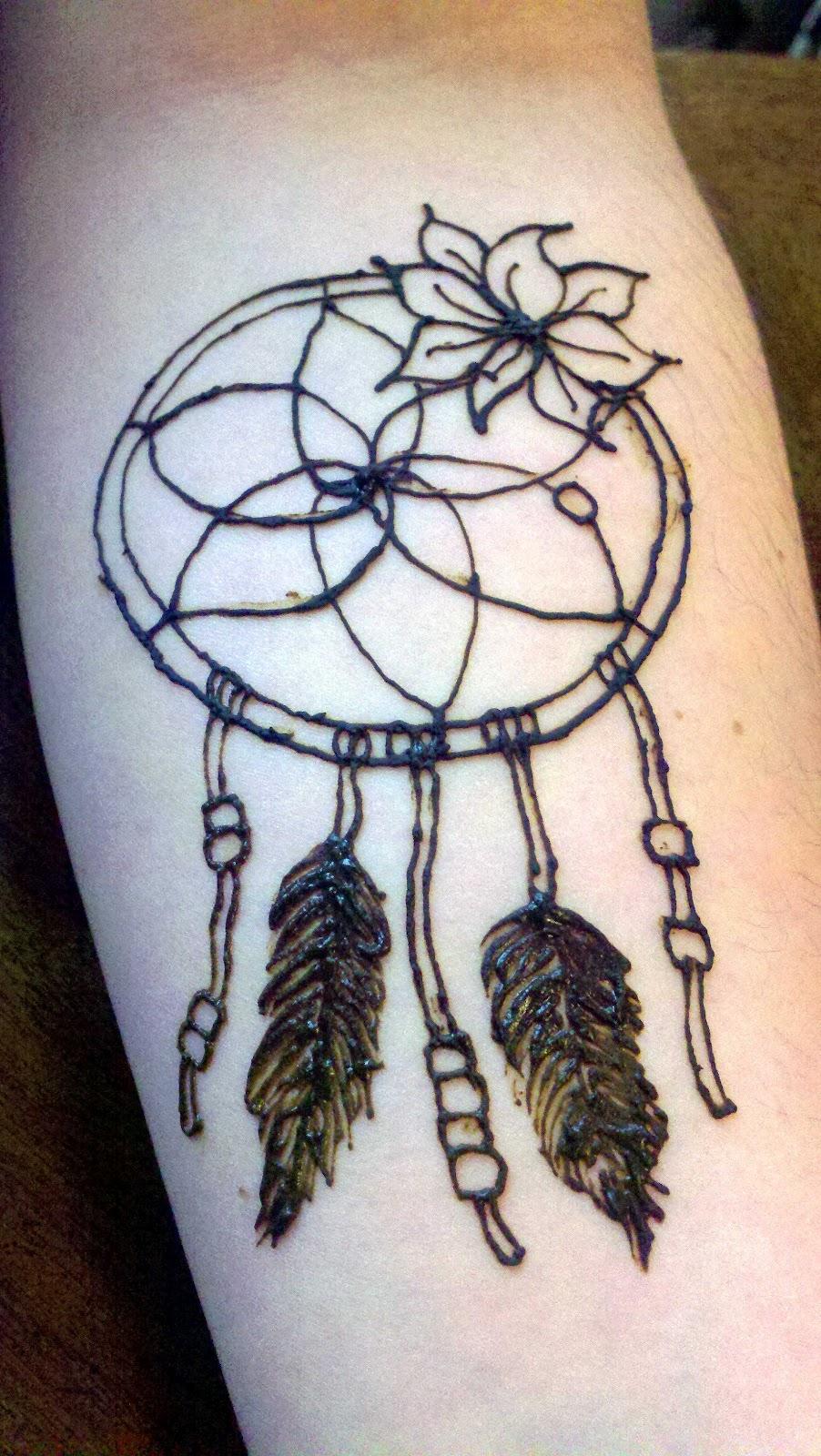 Dream Catcher Henna Tattoo Designs: Something About Henna