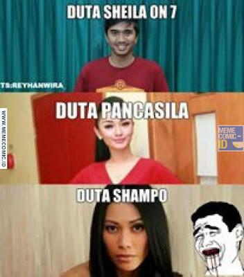 15 Meme Lucu 'Duta Shampo Lain' Ini Koplak Banget, Kebanyakan Nontonin Iklan Nih!