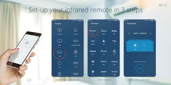 Smartphone Mi Remote  Xiomi