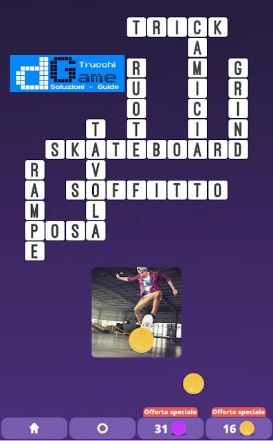 Soluzioni One Clue Crossword livello 20 schemi 14 (Cruciverba illustrato)  | Parole e foto