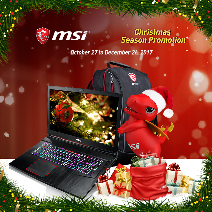 MSI Holiday Season Christmas Promo