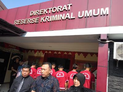 Polda Lampung Ungkap Kasus Perdagangan Manusia
