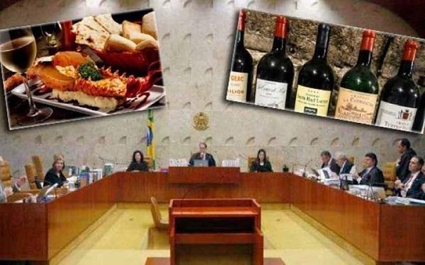 STF terá lagosta, camarão, uísque e vinhos caros em seu cardápio (Imagem: Reprodução/Tudo Rondônia)