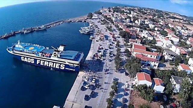 Σύσκεψη στη Σαμοθράκη για τις λιμενικές υποδομές και τη θαλάσσια συγκοινωνία του νησιού