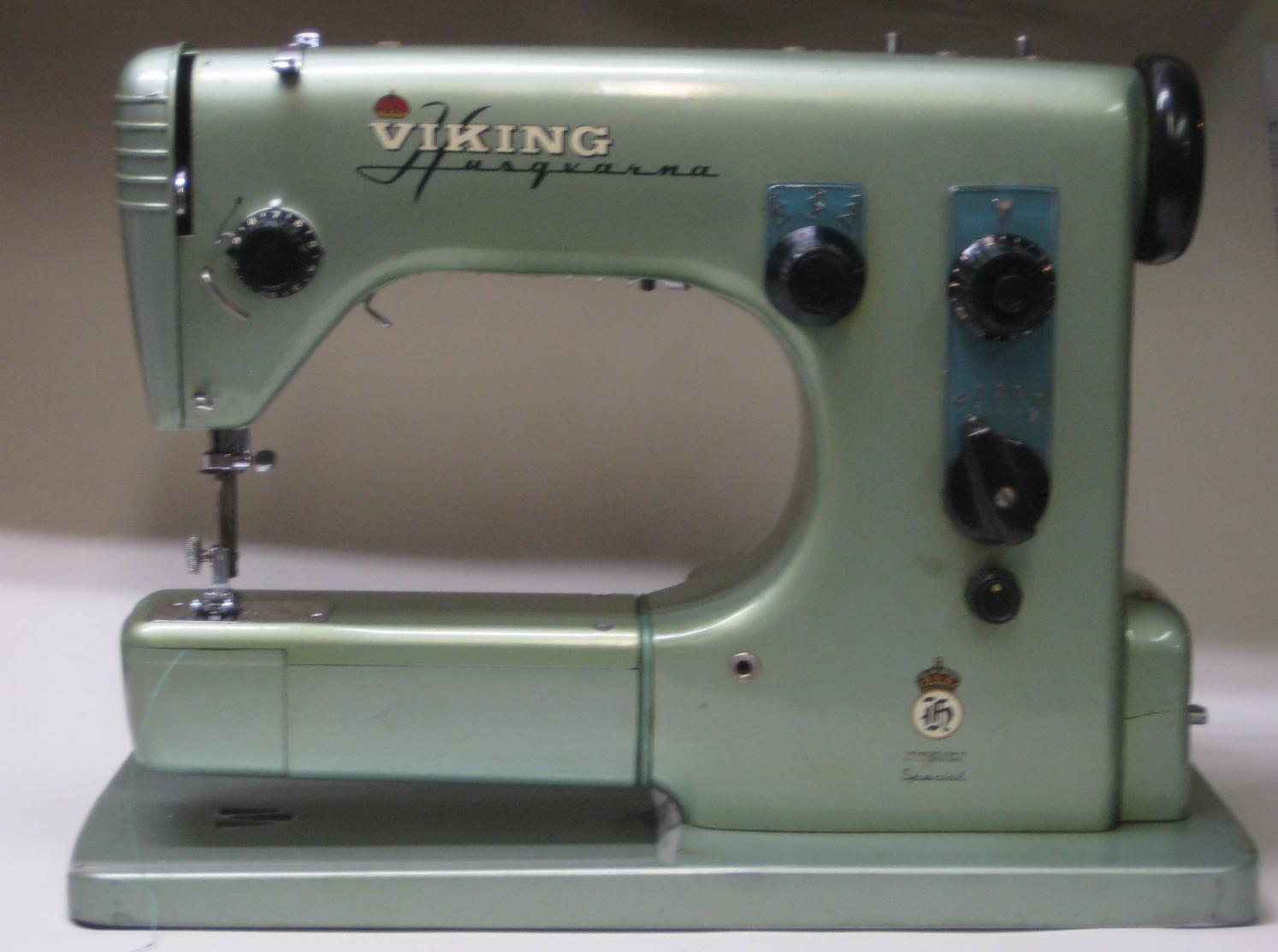 MI Vintage Sewing Machines: Husqvarna Viking SPECIAL (1950s)