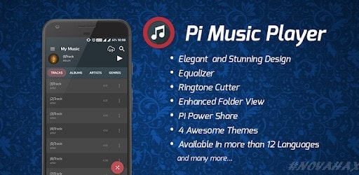 Pi Music Player PRO v2 7 2 APK ! [Unlocked] | Novahax
