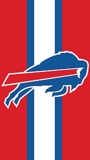 Wallpaper do Buffalo Bills red para celular gratis