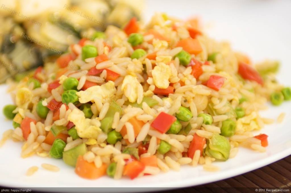 how to make easy fried rice in hindi