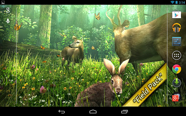 Apk Degrees: Forest HD Live Wallpaper v1.4 Apk Download