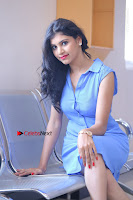 Telugu Actress Mounika UHD Stills in Blue Short Dress at Tik Tak Telugu Movie Audio Launch .COM 0129.JPG