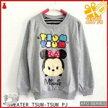 AFO685 Model Fashion Sweater TsumTsum LD 95 P Murah BMGShop