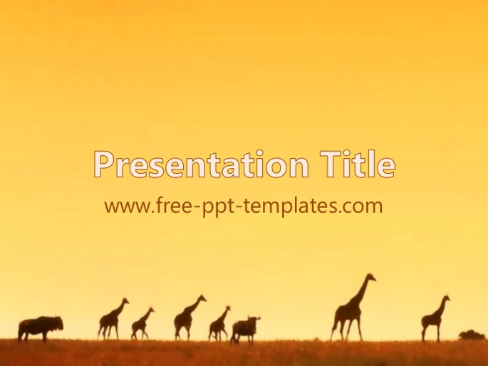 Africa ppt template toneelgroepblik Image collections