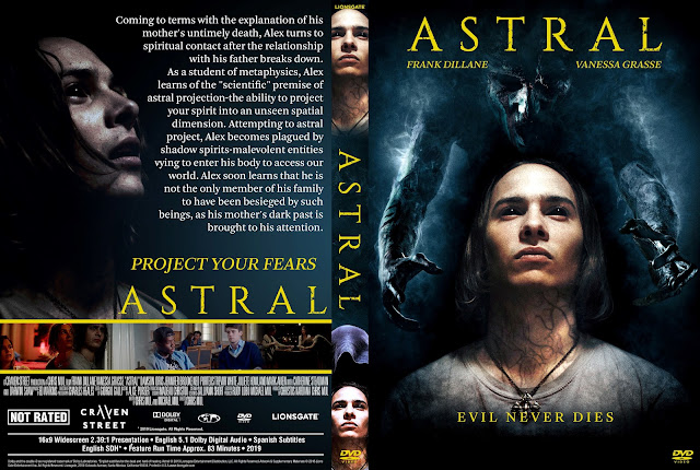 Astral DVD Movie Cover