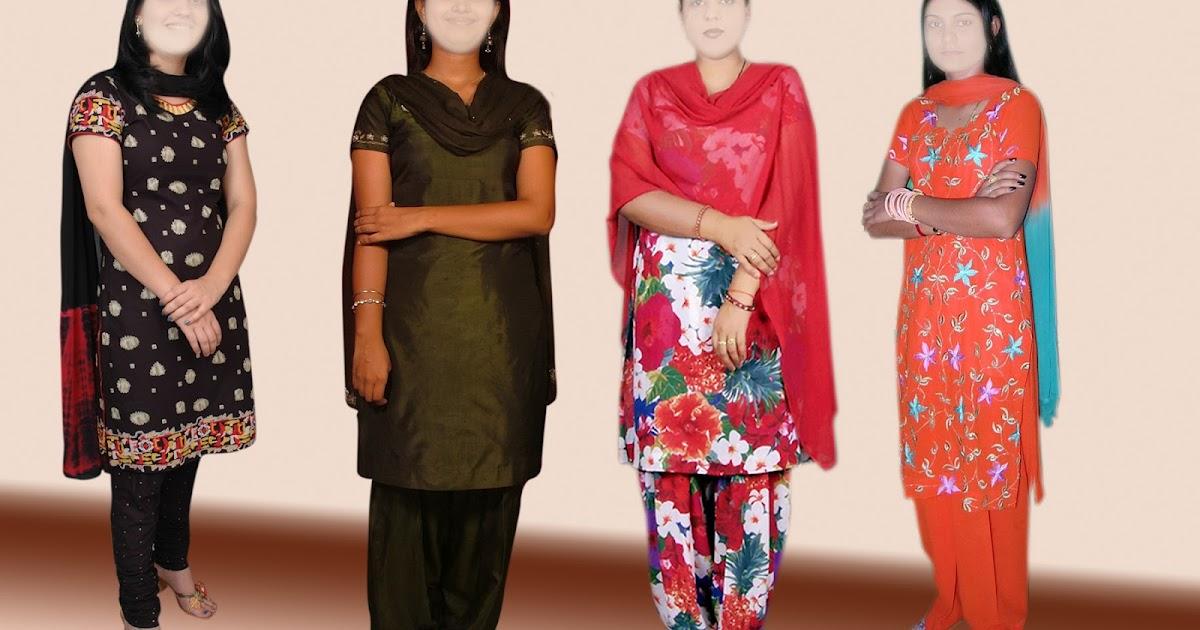 Aman Studio Indian Ladies Suits Full Psd